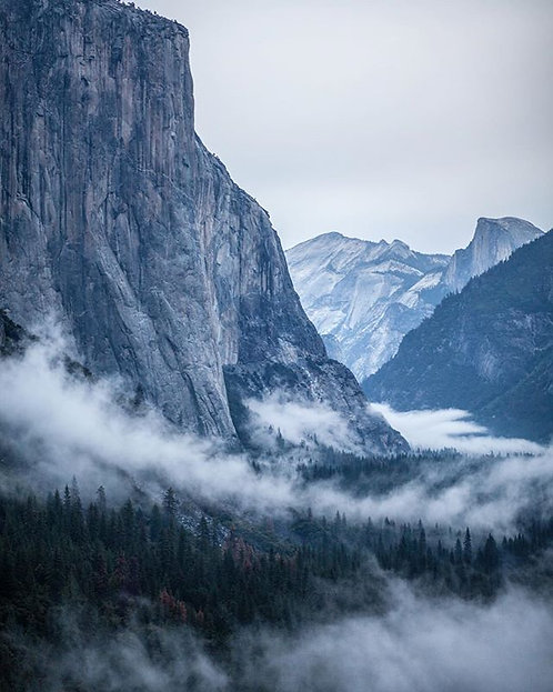 Yosemite Valley After Storm