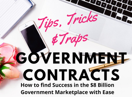 Free Webinar: Government Contracting