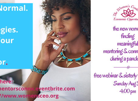 Free Webinar: Finding Mentors