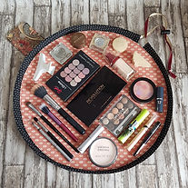 Copper Floral Flat Lay Fold Out Round Co