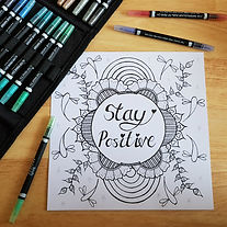 FREE Print At Home Mindfulness Colouring