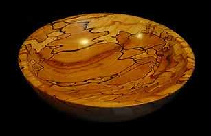 Spalted Beech Bowl 12inches x 12 inches