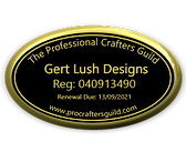 PCG Badge - Gert Lush Designs - small 20