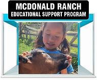 McDonald Ranch Educational Support Program