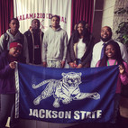 Dr. Robinson recruiting for Jackson State University