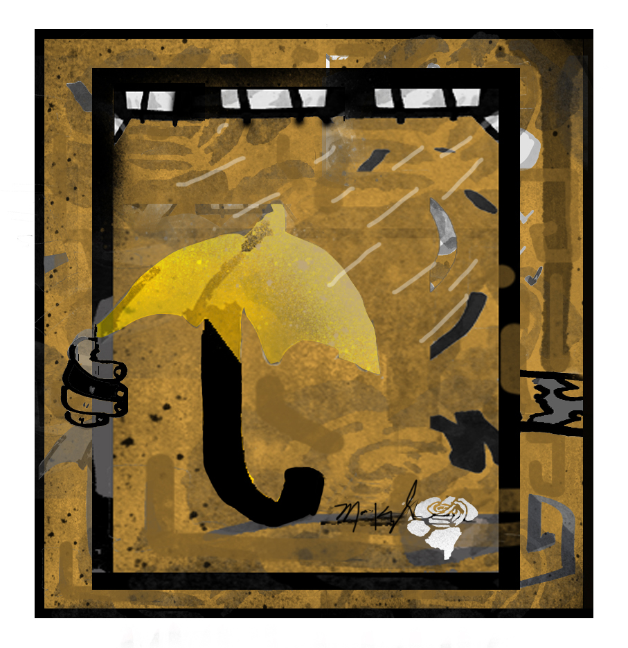 """the yellow umbrella"""