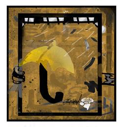 """the yellow umbrella"""