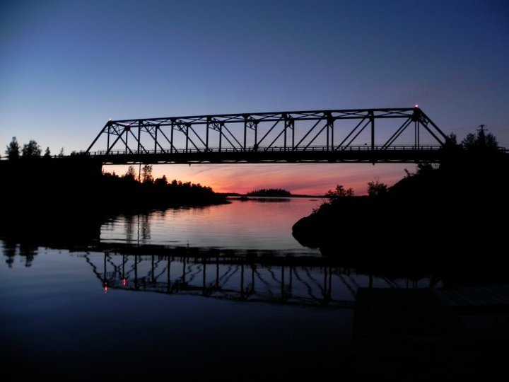 West Island Bridge, NWH.