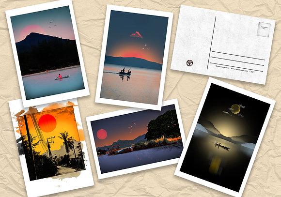 'Free Bird' Postcard Set