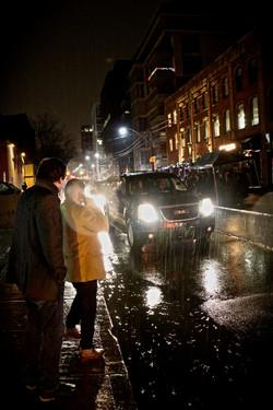 Rainy Evening in Toronto