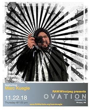 Marc Kuegle-RAW Winnipeg presents OVATIO