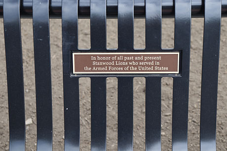 55-Stanwood Lions Bench Inscription.JPG