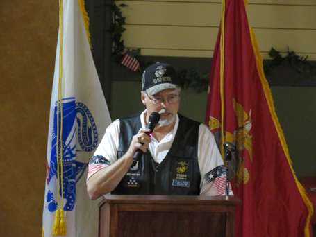 Vietnam Veteran Chuck Seaburg USMC