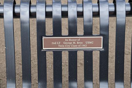 51-George Broz  Bench Inscription.JPG