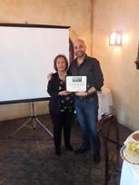 ARMA President Ryan Zilm and FW Chapter President Cecilia Restivo