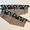Thumbnail: Boot Bracelet Gunmetal Blue