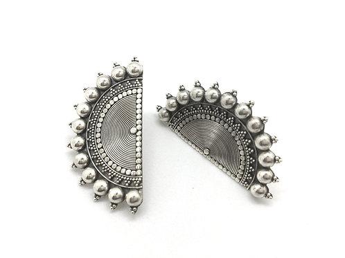 Kolkata Silver Earrings