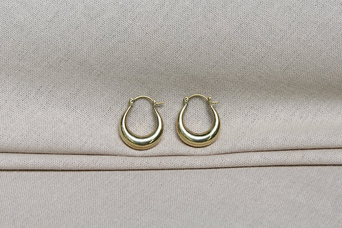 Nubian Earrings Brass
