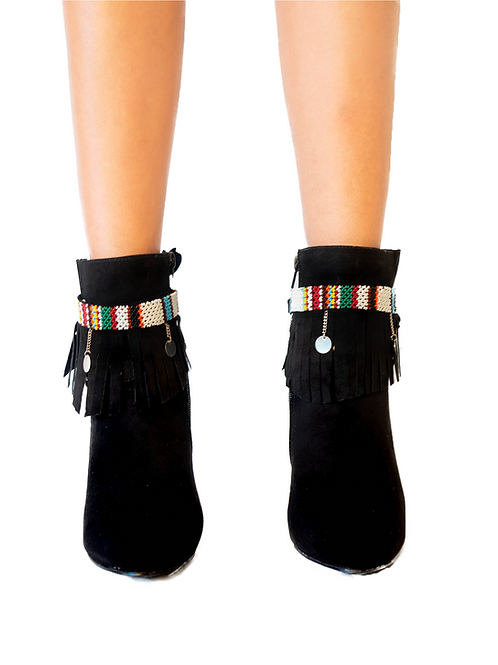 Boot Bracelet Black Maasai