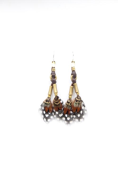 Short Earrings  Nubian Mabawa