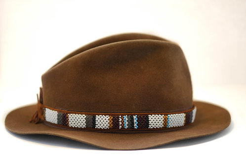 Hat Band (M) White