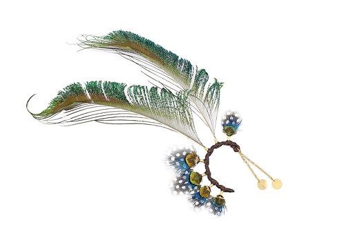 Ear Cuff Peacock Sword