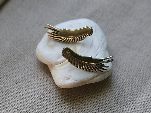 Vulture Wing Earrings