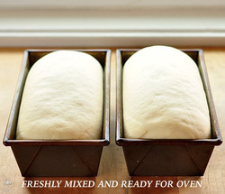 FRESHLY MIXED AND READY FOR OVEN