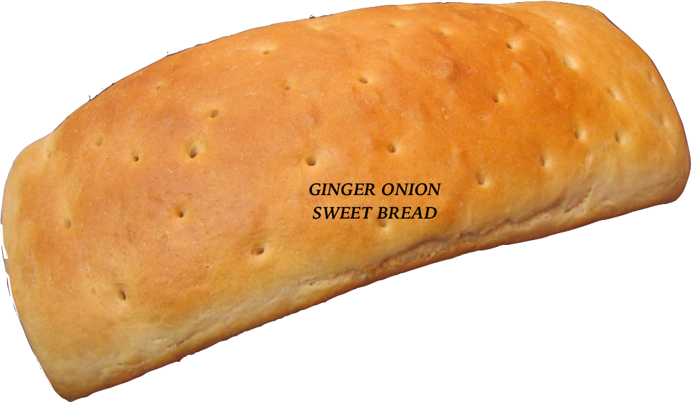 Delicious Ginger Onion Loaf