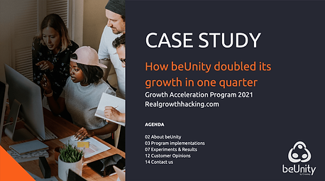 How beUnity doubled its growth in one quarter