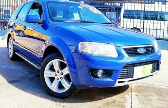 2009 Ford Territory TS SY MKII 7 Seater
