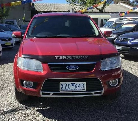 2010 Ford Territory TS SY 7 Seater
