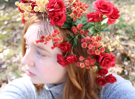 Creating A Flower Crown
