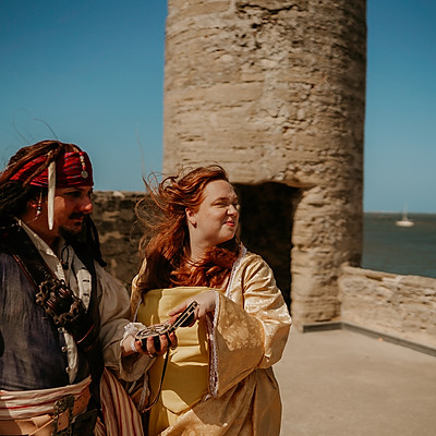 Elizabeth Swann & Jack Sparrow