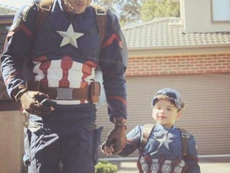 Meet Melbourne Captain America
