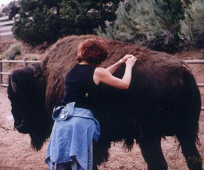sherry and buffalo 3.jpg