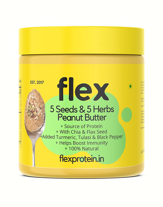 5 Seeds and 5 Herbs Peanut Butter