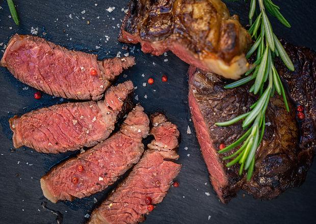 Saftiges Steak