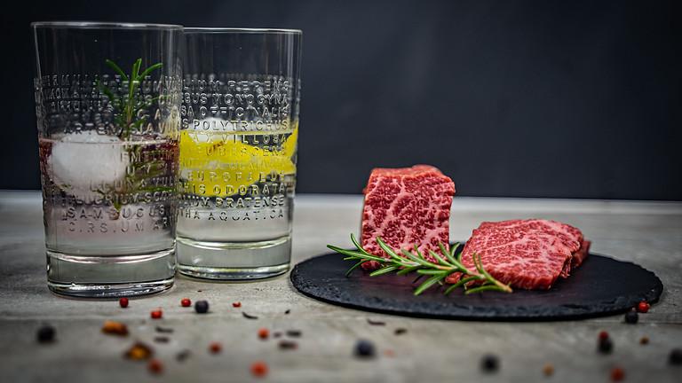 Steak trifft Gin - DAS Tasting! - 04.09.2021 - AUSGEBUCHT