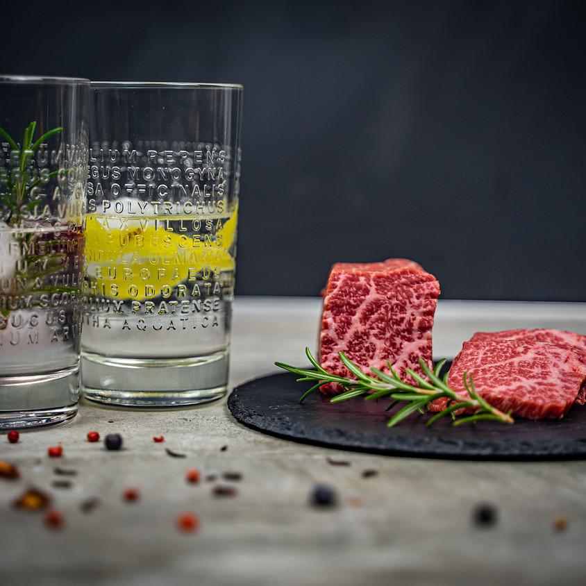 Steak trifft Gin - DAS Tasting! - 02.10.2021 - 145 €