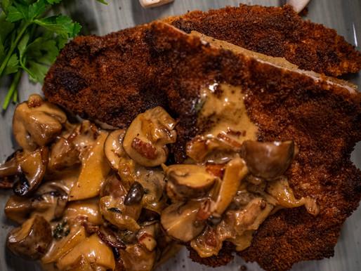 Jägerschnitzel - Hausmannskost vom Grill