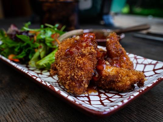 Chicken Nuggets mit Sweet-Chili Sauce