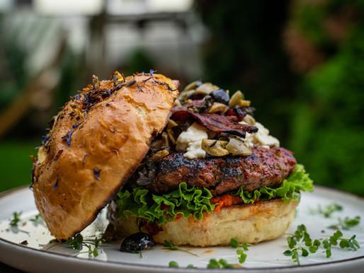 Wagyu-Lahmacun Burger