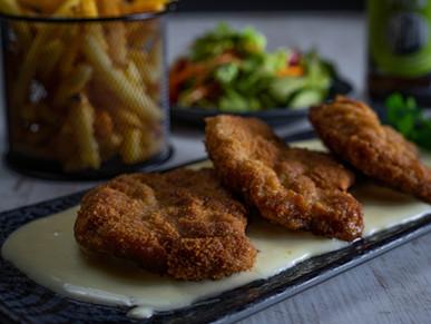 Kochkäse-Schnitzel