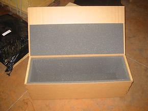 wrap carton mousse