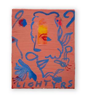 Light Years, 25x30cm oil on canvas