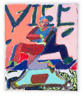 Vice, 25x30cm oil on canvas