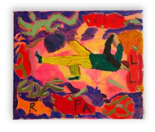 Fall Big, 26x30cm oil on canvas