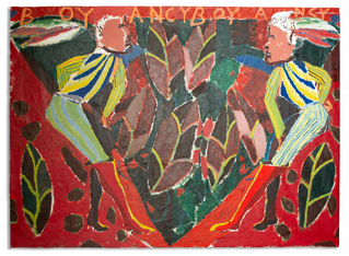Bouyancy, 150x205cm acrylic on canvas