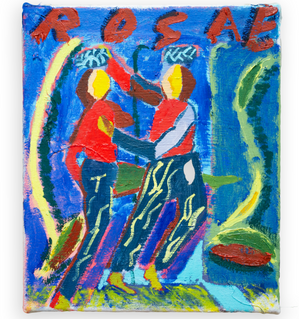 Rosie, 25x30cm oil on canvas
